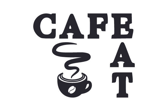 Download Free Cafe Eat Svg Cut File By Creative Fabrica Crafts Creative Fabrica for Cricut Explore, Silhouette and other cutting machines.