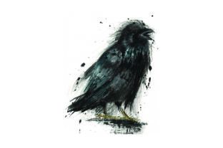 Crow- Watercolor Craft Design By Creative Fabrica Crafts