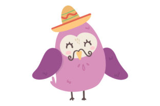 Purple Mexican Bird Craft Design By Creative Fabrica Crafts