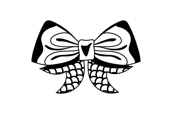 Download Free Mermaid Hair Bow Svg Cut File By Creative Fabrica Crafts for Cricut Explore, Silhouette and other cutting machines.
