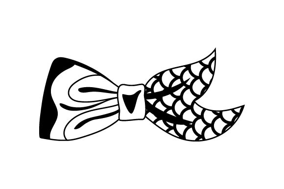 Download Free Mermaid Hair Bow Svg Cut File By Creative Fabrica Crafts SVG Cut Files