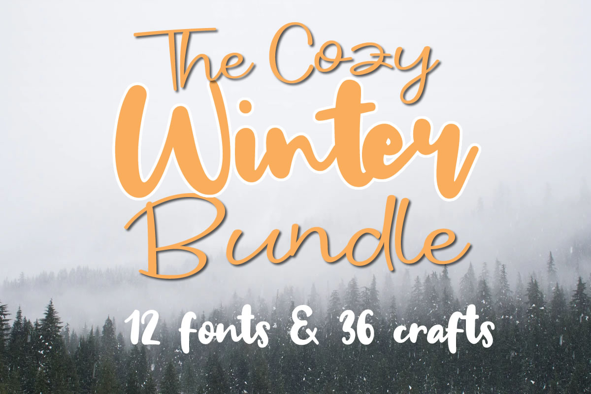 Download Free The Cozy Winter Bundle Bundle Creative Fabrica for Cricut Explore, Silhouette and other cutting machines.