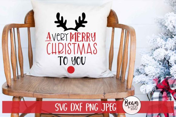Download Free A Very Merry Christmas To You Graphic By Jessica Maike for Cricut Explore, Silhouette and other cutting machines.