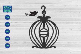 Bird Cage Funny Bird Cage Graphic By svgBank