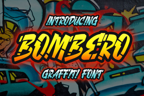 Print on Demand: Bombero Display Font By Blankids Studio