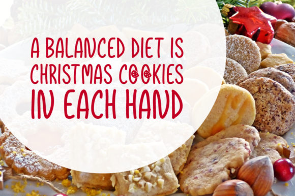 Print on Demand: Christmas Cookies Script & Handwritten Font By Shattered Notion - Image 3