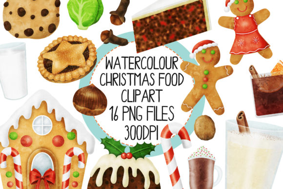 Download Free Watercolour Baking Ingredients Set 1 Graphic By The Laughing Sloth Digital Creative Fabrica for Cricut Explore, Silhouette and other cutting machines.