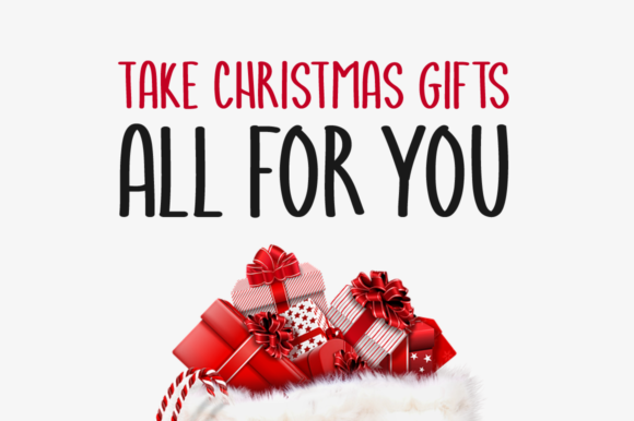 Print on Demand: Christmas Gifts Script & Handwritten Font By Shattered Notion - Image 2