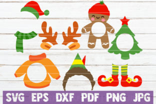 Christmas Monograms Graphic By MintyMarshmallows