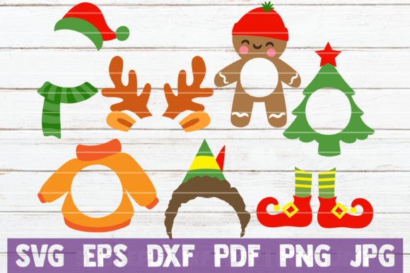 Download Free Christmas Monograms Graphic By Mintymarshmallows Creative Fabrica for Cricut Explore, Silhouette and other cutting machines.