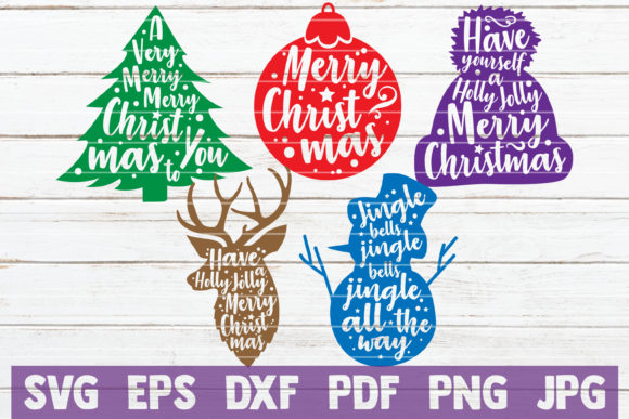 Christmas SVG Bundle Graphic By MintyMarshmallows Image 4