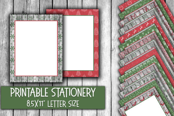 Christmas Stationery Rustic Christmas Graphic Backgrounds By oldmarketdesigns