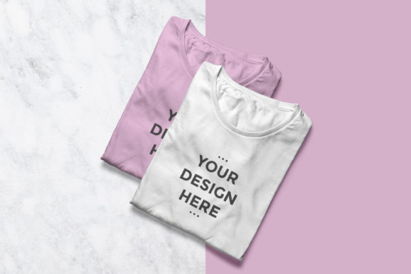 Clean T-shirt Showcase Mockup Graphic Product Mockups By suedanstock