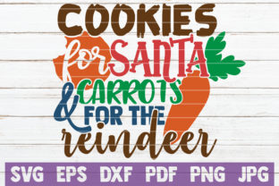 Cookies for Santa & Carrots for Reindeer Graphic By MintyMarshmallows
