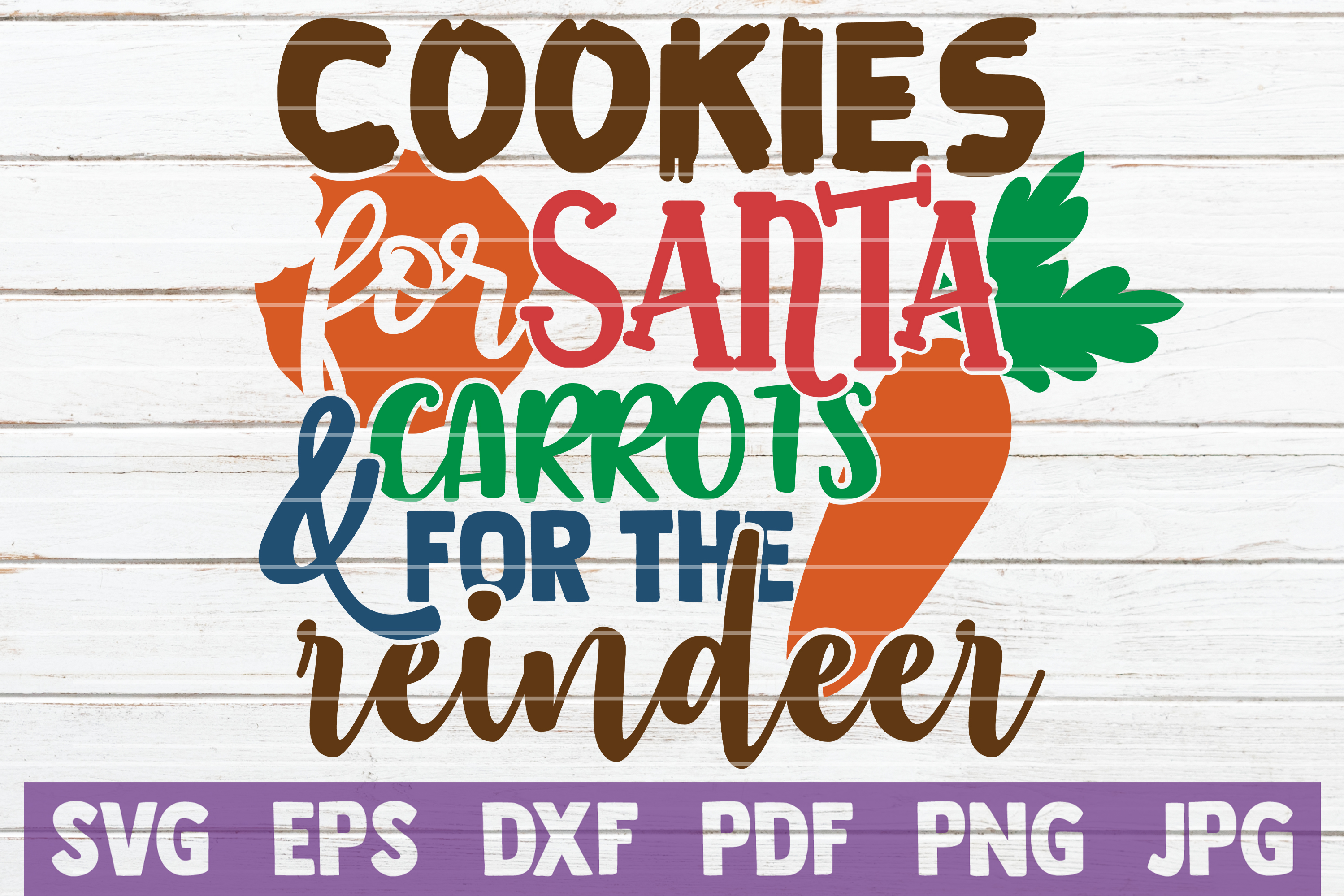Download Free Cookies For Santa Carrots For Reindeer Graphic By for Cricut Explore, Silhouette and other cutting machines.