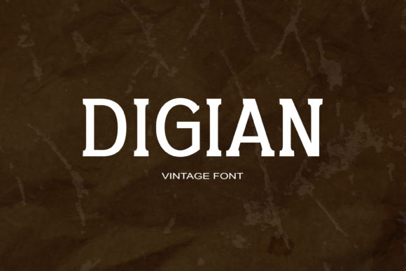 Digian Font By maxim.90.ivanov Image 1