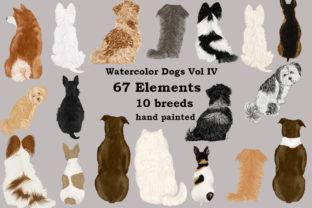 Print on Demand: Dog Clipart, Dog Breeds, Pet Clipart Graphic Illustrations By LeCoqDesign