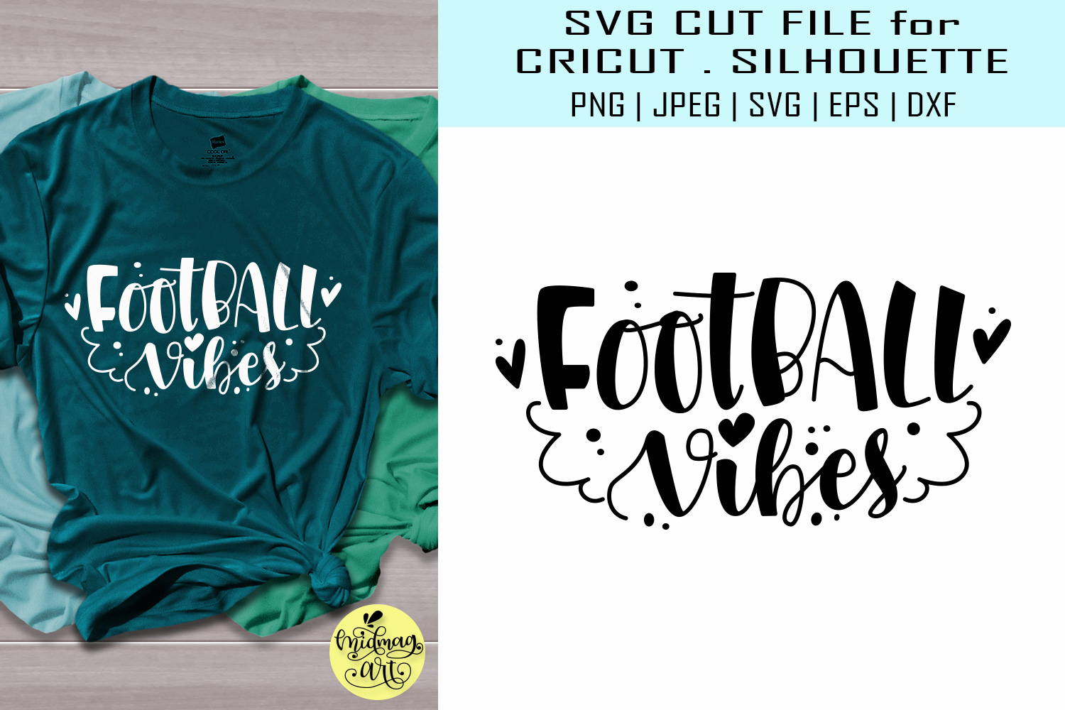 Football Vibes Graphic By Midmagart Creative Fabrica