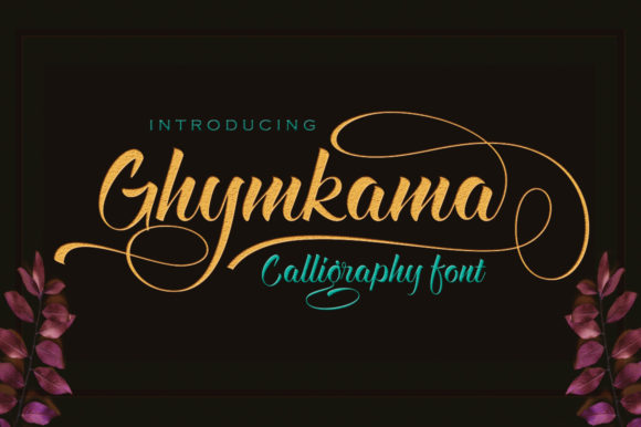Print on Demand: Ghymkama Script & Handwritten Font By sapre.studio