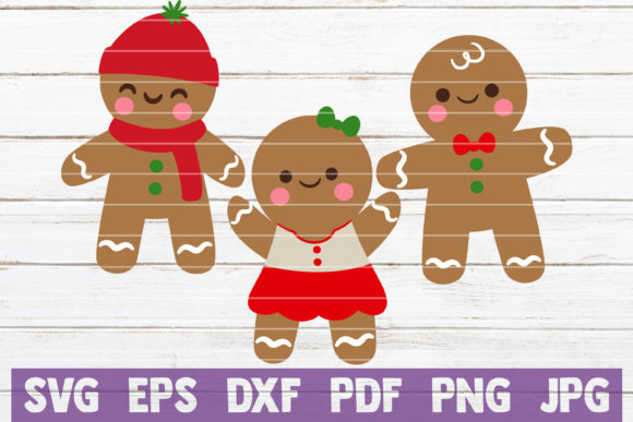 Gingerbread Graphic Graphic Templates By MintyMarshmallows