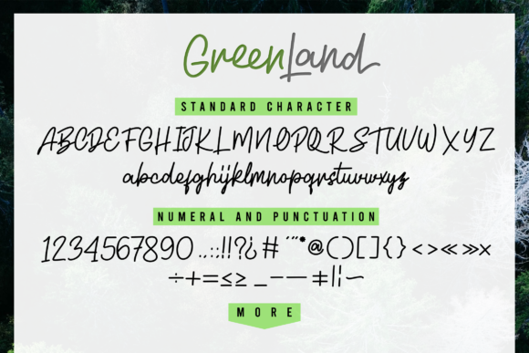 Greenland Duo Font By InspiraType Image 13