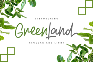 Greenland Duo Font By InspiraType