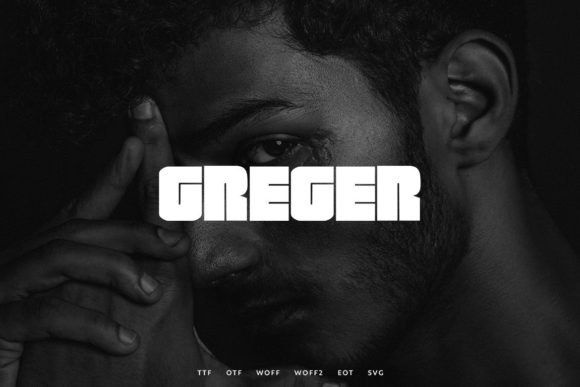 Print on Demand: Greger Display Font By Webhance