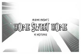 Home Sweet Home Font By besttypeco
