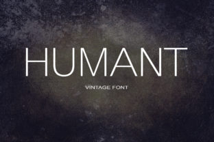 Humant Font By maxim.90.ivanov
