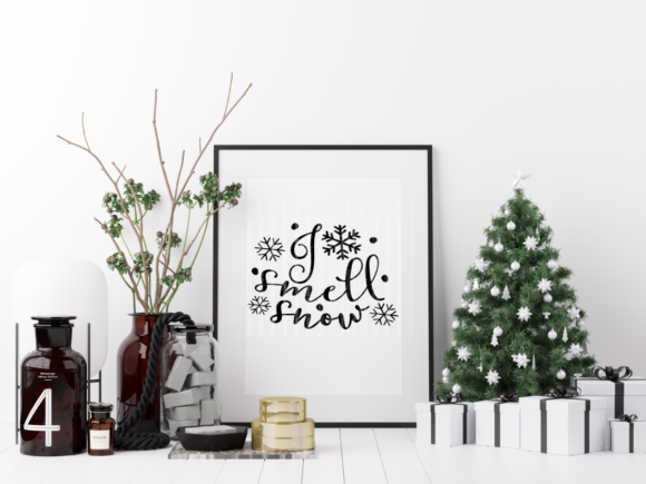 I Smell Snow Graphic Crafts By ElsieLovesDesign - Image 2