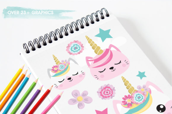 Kawaii Cats Graphic By Prettygrafik Image 3