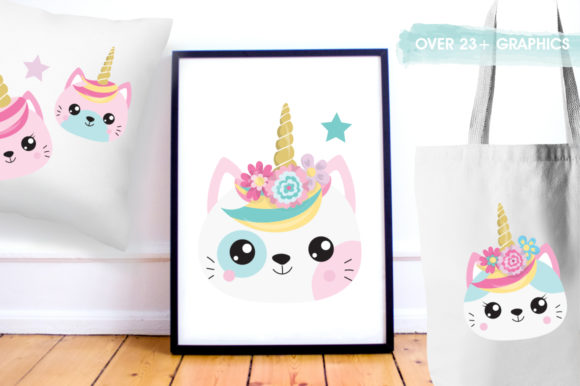 Kawaii Cats Graphic By Prettygrafik Image 5
