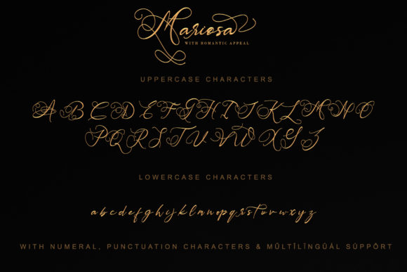 Print on Demand: Mariosa Script & Handwritten Font By thomasaradea - Image 9