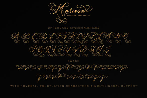 Print on Demand: Mariosa Script & Handwritten Font By thomasaradea - Image 10