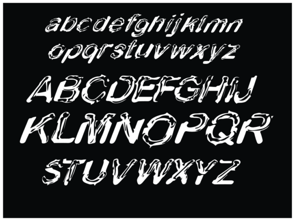 Download Free Metrix Snake Font By Mamplanglaut Creative Fabrica for Cricut Explore, Silhouette and other cutting machines.