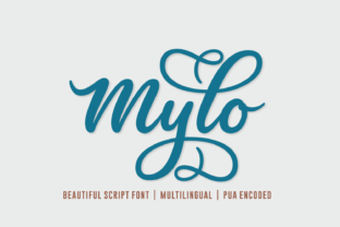 Mylo Font By Situjuh
