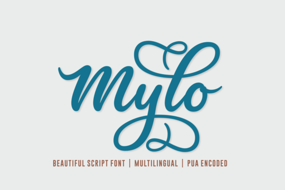 Print on Demand: Mylo Script & Handwritten Font By Situjuh - Image 1