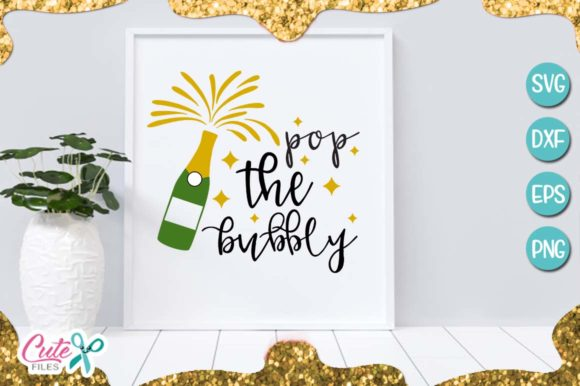 Download Free New Yeart Bundle Graphic By Cute Files Creative Fabrica for Cricut Explore, Silhouette and other cutting machines.