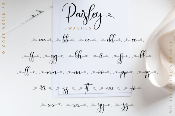 Print on Demand: Paisley Script Script & Handwritten Font By NissaStudio - Image 12