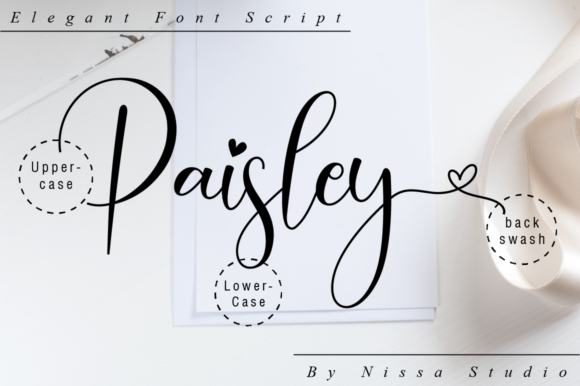 Print on Demand: Paisley Script Script & Handwritten Font By NissaStudio - Image 10