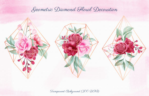 Romantic Watercolor Flowers Collection Graphic By KeepMakingArt Image 3