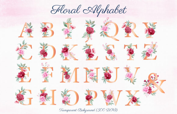 Romantic Watercolor Flowers Collection Graphic By KeepMakingArt Image 6