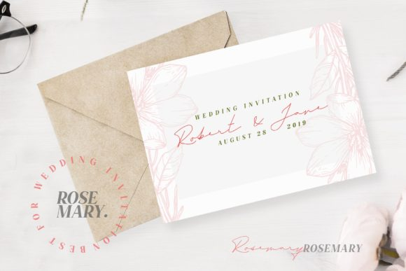 Print on Demand: Rosemary Script & Handwritten Font By Typia Nesia - Image 6