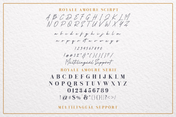Print on Demand: Royale Amoure Serif Font By Almeera Studio - Image 7