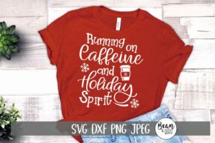 Running on Caffeine and Holiday Spirit Graphic By Jessica Maike