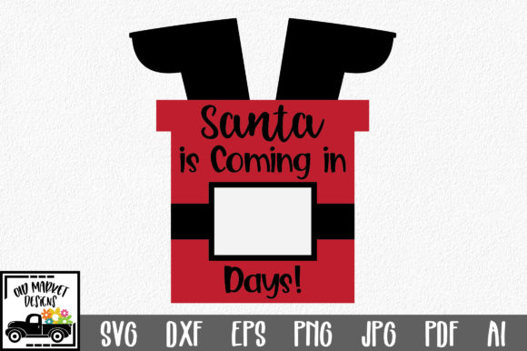 Santa in Chimney Graphic Crafts By oldmarketdesigns