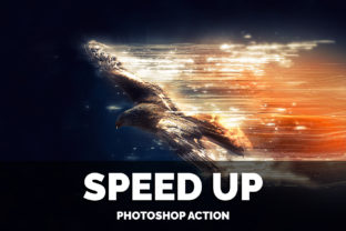 Speed UP Photoshop Action Graphic By jubair_haider