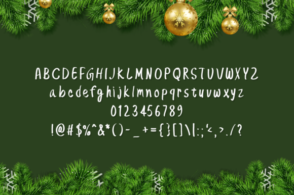 Print on Demand: Sweet Christmas Script & Handwritten Font By Instagram Fonts - Image 4