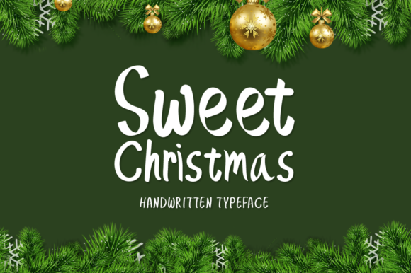 Print on Demand: Sweet Christmas Script & Handwritten Font By Instagram Fonts