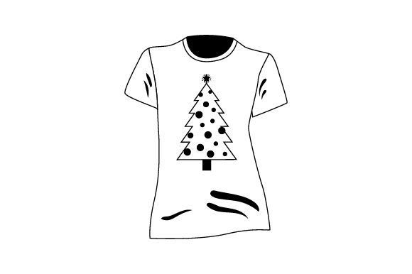 Download Free T Shirt Mockup With Christmas Tree Svg Cut File By Creative for Cricut Explore, Silhouette and other cutting machines.